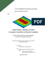 Concepção de um painel em material compósito_final Dez2010