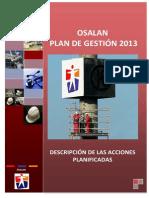 Plan Gestion Osalan 2013