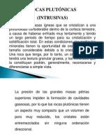 Diapositiva de Rocas Igneas Intrusivas 10-11-12