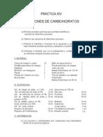Reacciones de Carbohidratos