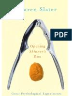[Lauren Slater] Opening Skinner's Box Great Psy