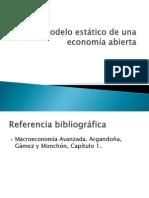 II.4 economía  abierta estático