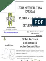 Zona Metropolitana Hercon Octubre 2013