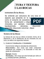 DIAPOSITVA DE TEXTURA Y ROCAS ÍGNEAS