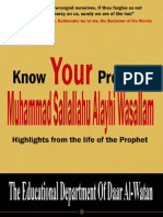 Know Your Prophet islamicpdf.blogspot.com