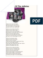 THE OLD POSSUM´S BOOK FOR PRATICAL CATS - THE SONG OF JELLICLE CATS