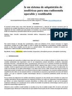 Desarrollo de un sistema de adquisición de variables atmosféricas para una radiosonda recuperable y reutilizable