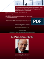 Pricipio 10 - 90 Covey