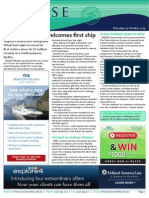Cruise Weekly for Thu 24 Oct 2013 - New Hobart terminal, Costa Cruises, Royal Caribbean outage, HAL, Cruise Holidays and much more