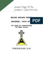 Golden Dawn 2=9 Major Arcana Series - Universe