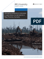 Managing peatlands in Indonesia