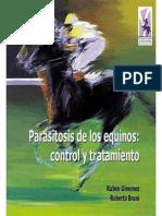 Control Tratamiento Parasitosis Equinos