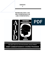Army Refrigeration and Air Conditioning Vol 3