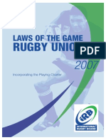 Laws of Rugby