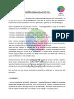 Programa Consejeros Académicos Pangea 2014