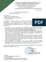 Surat Pemberitahuan Percepatan Dapodik 2013(1)