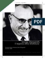 37813989 Giorgio Manganelli Il Teppista Della Letteratura