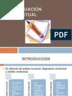 DDP - Evaluacion Conductual