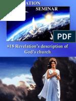 18--Revelation's Description of God's Church