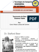 Beer Sistema Viable Taxonomia