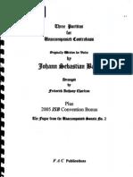 Partitas Bach (Frederick Charlton)