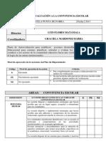 PAUTA DE AUTOEVALUACIÓN A LA CONVIVENCIA ESCOLAR
