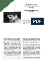 Manual para El Lector de la Eucaristía