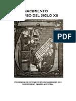 Siglo XII Programa y Textos