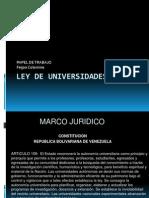 Ley de Universidades