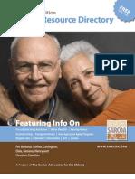 SARCOA Senior Resource Directory 2009