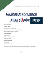 MINISTERUL FOCURILOR ATENT STĂPÂNITE  (comedie)