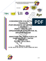 CONVECCIÓN COLECTIVA ( RNL) SECTOR SALUD CON ALCANCE NACI. 2013-2015 FENASIRTRASALUD (1)