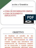 1a WA Coma Enumerativa y Coma Explicativa