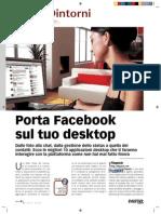 Porta Facebook sul tuo desktop