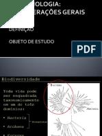 1 MICROBIOLOGIA CONSIDERAÇÕES GERAIS
