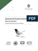 Desarrollo del Producto Aviturístico