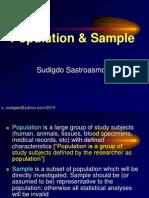Metlit-02 Populasi, Sampel & Variabel - Prof. dr. Sudigdo S, SpA(K).ppt