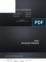 Otitis Eksterna Fix