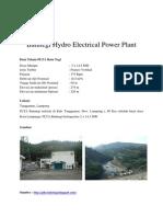 Batutegi Hydro Electrical Power Plant.docx