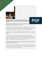 Entrevista a José Antonio Torres González