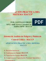 4. UNAL MEDELLÍN SEMINARIO TALLER HACCP. APLICACIÓN PRÁCTICA DEL SISTEMA HACCP I MAYO 11-12-13 DE