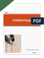 Slides de Avancada