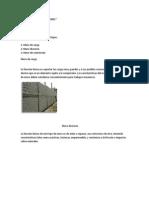 Muros y Sus Clasificaciones