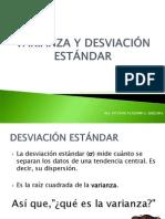 VARIANZA Y DESVIACIÓN ESTÁNDAR.ppt