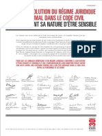 Manifeste Des Intellectuels - Fondation 30 Millions d'Amis