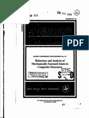 Ada199171 Pdf Fatigue Material Strength Of Materials