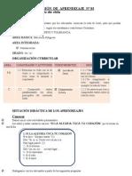 SESIÓN  DE  APRENDIZAJE  N03 RECU2009
