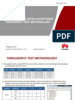 Cluster Acceptance Throughput Test Methodology_v01