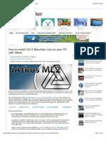 How to install OS X Mountain Lion on your PC with iAtkos.pdf