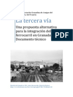 Propuesta de integración ferroviaria en la Ciudad de Granada-1